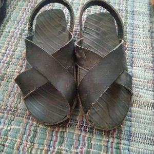 Recycled Tire Sandals